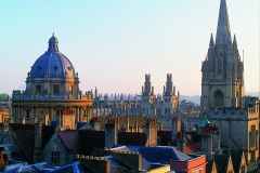 Sunrise on the dreaming spires from High Street