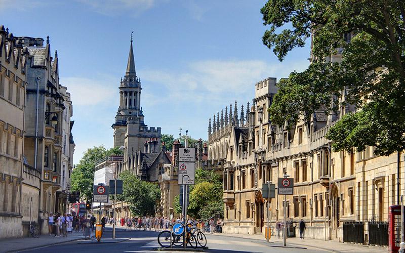 Oxford High Street tour